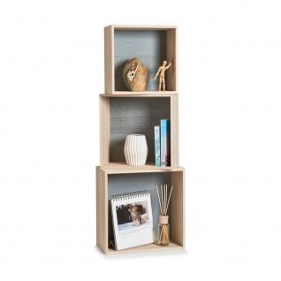 Regal Cubes , 3 Stück Im Set, Holz, Zeller - Vorschau 2