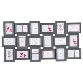 Bilderrahmen aus Kunststoff, Foto-Galerie, Bildformat 10x15 cm