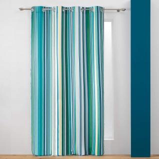 Fenstervorhang COLOR LINE, 140 x 260 cm, bunte Streifen