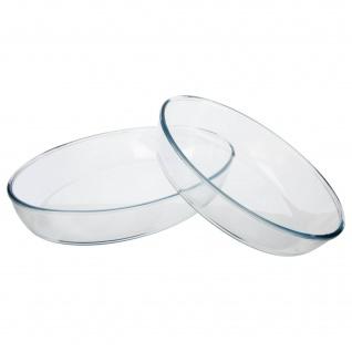 Auflaufform, oval, 2 Stück