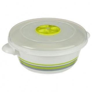 Lebensmittelbehälter 1 L rund, grün - 5five Simple Smart