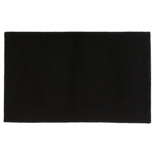 Badteppich TAPIS UNI, 50x80 cm, schwarz
