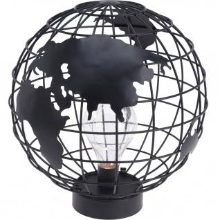 GLOBUS Tischleuchte, 9 LED, schwarz - Home Styling Collection