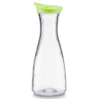 Glas Dekanter für kalte Getränke Glas, Krug, 900 ml, grün - ZELLER