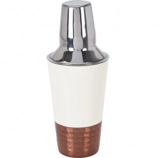 Deko-Cocktail-Shaker aus Metall, Barkeeperset - EH Excellent Houseware