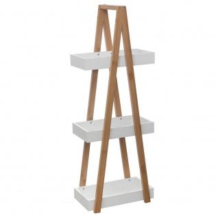 Badregal 3 Ebenen Bambus, Badezimmer-Aufhänger - 5five Simple Smart