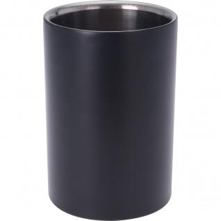 COOLER Weinregal, Edelstahl, 18 cm, schwarz - EH Excellent Houseware