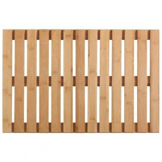 Bambusmatte aus Holz, Badezimmer-Plattform, Wenko