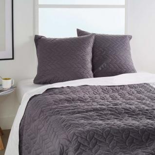 Set aus Tagesdecke und 2 Kissenbezügen, Schlafzimmer Tagesdecken modern - gelb