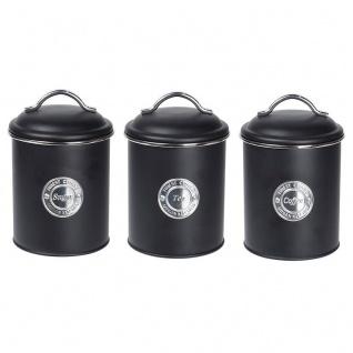 Aufbewahrungsdosen Set, 3-teilig mit Deckel - EH Excellent Houseware - Vorschau 1