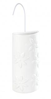 Luftbefeuchter für Heizkörper, Keramik, weiß in Blumen, WENKO