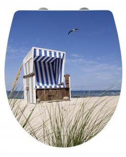 BEACH WC-Sitz, Duroplast, WENKO