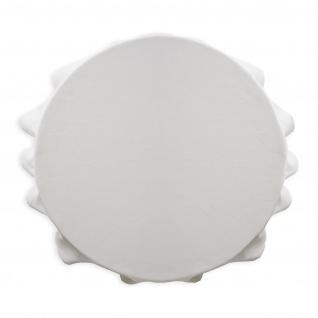 Runde Tischdecke, Ø 180 cm, weiß, TODAY - Today