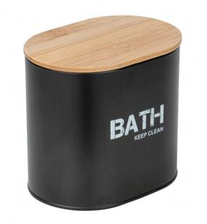 Badezimmercontainer GARA, Farbe schwarz, Wenko
