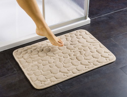 WENKO Soft-Duschvorlage Badteppich Badvorleger Duschmatte Antirutschmatte