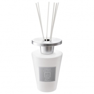 Dekorativer weißer Duftdiffusor mit Stäbchen, 300ml