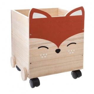 Holztruhe mit Rollen, Fuchs-Ohren - Atmosphera for kids
