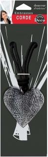 Raffhalter AMOURETTE, 1 Stück, schwarz - Vorschau 3