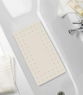 MIRASOL Duschmatte mit Saugnäpfen, rutschfester Gummi-Gehweg - 69 x 39 cm, WENKO