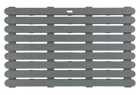 Anti-Rutsch-Pad für Bad, rechteckige Badematte oder Duschwanne - 50 x 80 cm - WENKO