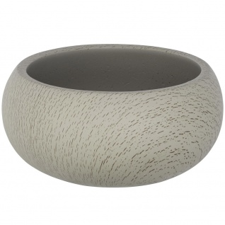 Behälter für Kosmetikzubehör, moderne Badschale JOY aus Zement - WENKO