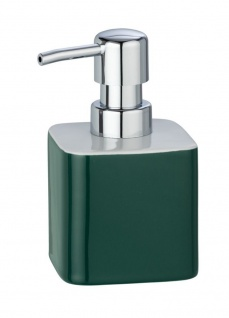 ELMO Flüssigseifenspender, grün, WENKO