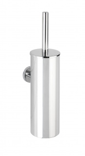 WC-Bürstenbehälter zur Wandmontage BOSIO, silber