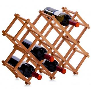 Bambus Weinregal - 10 Flaschen, ZELLER