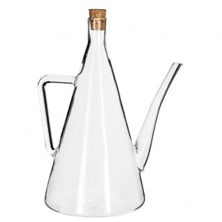 Ölkrug - 500 ml, glas, transparent, Flasche, Ölspender, Secret de Gourmet