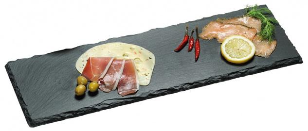 Buffet-Platte, Schneidebrett, Servierbrett, Küchenbrett, Küchenzubehör, Schiefer
