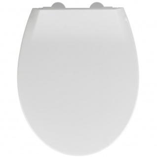 WC-Sitz mit Deckel für Kinder, Kunststoff-WC-Zubehör mit Free-Fall-Mechanismus - WENKO