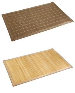 Badematte Bamboo Dunkel