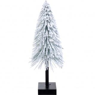 LED Künstlicher Weihnachtsbaum, Schneebedeckter Deko-Baum, 40 cm - Home Styling Collection