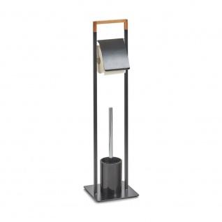 Ständer für Toilettenpapier und eine Toilettenbürste - 2 in 1, ZELLER