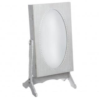 Standspiegel, klein, Kleidung auf Schmuck, Höhe: 61 cm