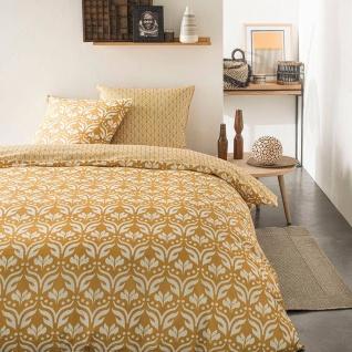 Bettwäsche 220x240 cm, Baumwolle, beidseitig, ethnisches Muster