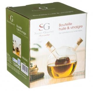 Secret de Gourmet, Glasspender für Öl und Essig - 2in1 - Vorschau 2