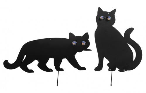WENKO Vogelschreck Katzen, 2er Set