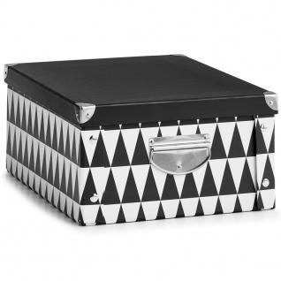 Zeller Aufbewahrungsbox Triangle, Pappe