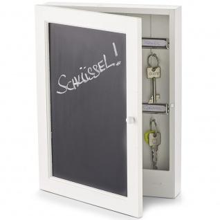 Zeller Schlüsselkasten Tafel, MDF, ca. 22 x 5 x 30 cm