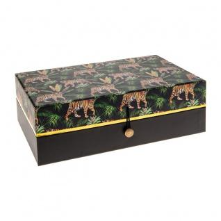 JUNGLE Schmuckschatulle Geschenkbox Geschenkbox Tiger Motiv - Atmosphera