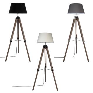 3 LEGS LINEN FLOOR LAMP RUNO