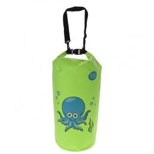 Wasserdichte Segeltasche, 30 L, grün - Vorschau