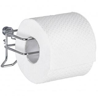 Wenko Toilettenpapierhalter Classic Rollenhalter, Stahl, chrom, 10 x 12 x 7.5 cm