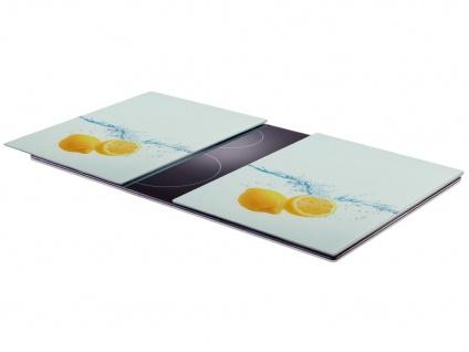 2 x Herdschutzplatten aus gehärtetem Glas, 52 x 40 cm, ZELLER - Vorschau 2