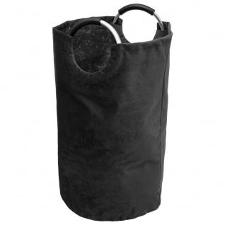 VELVET Wäschekorb, Tasche mit Griffen, marine Farbe - 5five Simple Smart