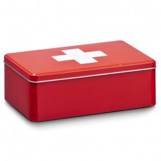 """ZELLER Aufbewahrungs-Box"""" First Aid"""", Metall"""