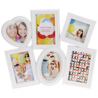 Rahmen für 6 Fotos, Fotogalerie, Bilderrahmen, Multibilderramen