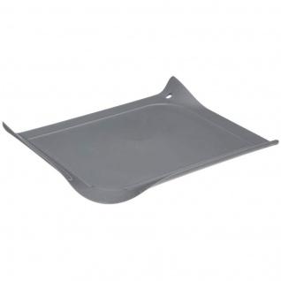 Schneidebrettset, Kunstostoff, 30 x 26, 5 cm, grau