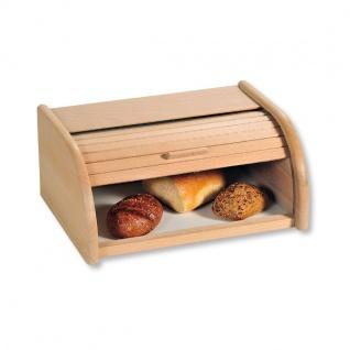 Brotkasten aus Buchenholz Brotdose im Retro-Stil Kesper